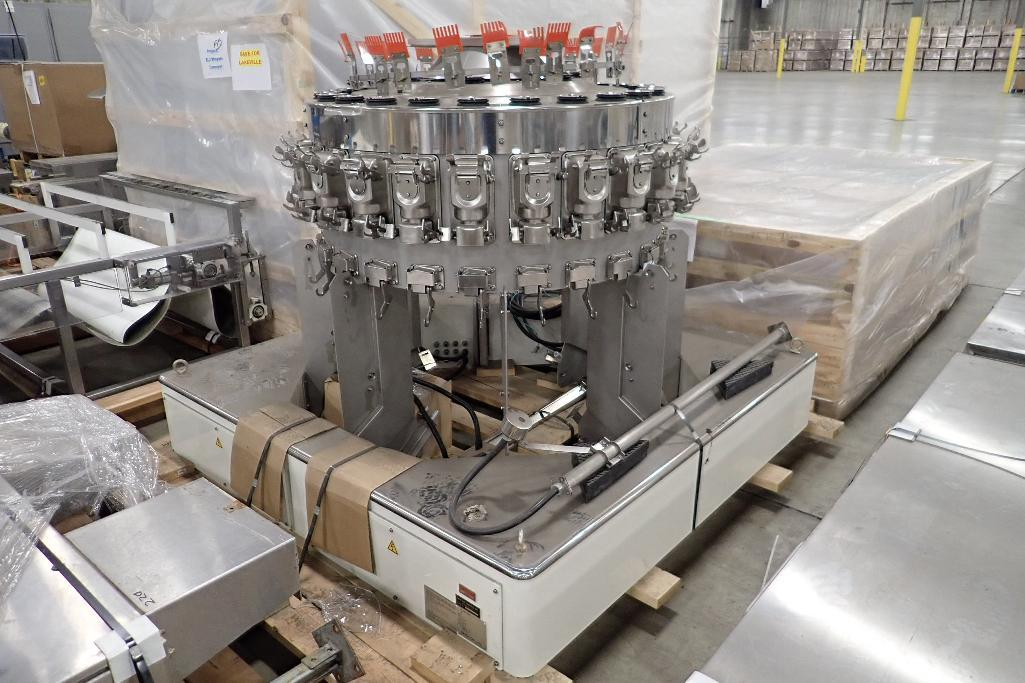 Lot 1054 - 2011 Ishida high speed 24 head scale, Model CCW-R-224B-1D/30-PB, SN 56517, washdown, capable of mult