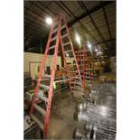 "A-Frame Ladders, Total Height Aprox. 139"" H; 115"" H; & 77"" H (LOCATED IN WINNSBORO, TX)(Rigging,"