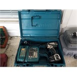 RECHARGEABLE HAND DRILL, MAKITA, w/charger & case