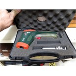 """LOT CONSISTING OF 3/8"""" TORQUE WRENCH w/case, MITUTOYO GAUGE BLOCKS (in three boxes) & EXTECH MDL."""