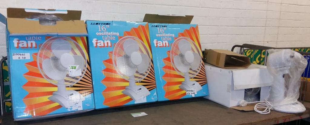 Gumtree Desk Fan : Lloytron oscillating table fans desk fan