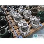 0.75 HP APPROX. PUMP MOTORS *$25.00 RIGGING FEE DUE TO INDUSTRIAL SERVICES AND SALES*