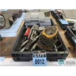 (LOT) MISC. PNEUMATIC & ELECTRIC POWER HAND TOOLS