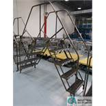 5-STEP LETTERMAN CROSS-OVER LADDER *$25.00 RIGGING FEE DUE TO INDUSTRIAL SERVICES AND SALES*