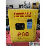 """17"""" X 17"""" X 22"""" HIGH SECURALL BENCH TOP FLAMMABLE LIQUID SAFETY STORAGE CABINET"""