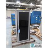 MISC. SIZE ELECTRICAL MACHINE CONTROL CABINETS *$25.00 RIGGING FEE DUE TO INDUSTRIAL SERVICES AND