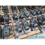 1.0 HP APPROX. DRIVE MOTORS *$25.00 RIGGING FEE DUE TO INDUSTRIAL SERVICES AND SALES*
