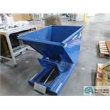 VESTIL MODEL D-50-HD SELF-DUMPING HOPPER *$25.00 RIGGING FEE DUE TO INDUSTRIAL SERVICES AND SALES*