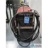 250 AMP LINCOLN ELECTRIC TYPE WIRE-MATIC 255 MIG WELDER; S/N U1961007995 *$25.00 RIGGING FEE