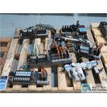 SKID MISC. FESTO VALVES *$25.00 RIGGING FEE DUE TO INDUSTRIAL SERVICES AND SALES*