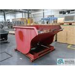 2 CUBIC YARD GALBRETH SELF-DUMPING HOPPER *$25.00 RIGGING FEE DUE TO INDUSTRIAL SERVICES AND SALES*