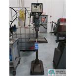 """15"""" WILTON MODEL 5816 VARIABLE SPEED SINGLE SPINDLE FLOOR DRILL; S/N 31424 *$25.00 RIGGING FEE DUE"""