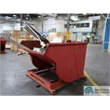 2 CUBIS YARD GALBRETH SELF-DUMPING HOPPER *$25.00 RIGGING FEE DUE TO INDUSTRIAL SERVICES AND SALES*