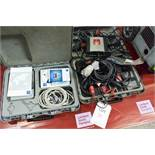 Texa Navigator TXT pass-through unit, model SAE-J2534, with cabling and carry case