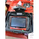 Snap On Verus Pro, model EEHD301-6 diagnostic touch screen tablet, with Snap EESM 300 scan module,