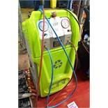 CTR Astra R134a air conditioning recharger (2014), serial no. 14/A064, 240v