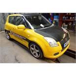 Suzuki Swift GL 1.3 petrol hatchback, reg no: NG05 CKP (2005), MOT: 29/09/2020 , recorded mileage: