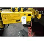 Major Lift 20 ton commercial vehicle pit jack, serial no: 19D/10117-1609. NB: This item has no