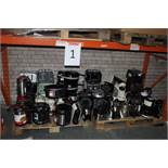 Entire Bay To Contain Large Amount Of Assorted Unboxed Electrical Items To Include Morphy Richards