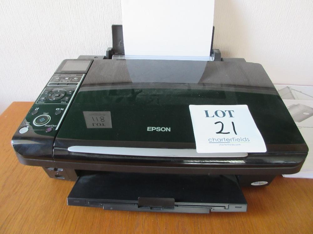 Lot 21 - Epson SX405 printer