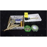 Painting accessories incl.brush, trays, foam, tape