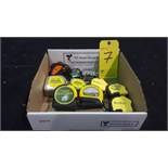 Lot (11) Measuring tapes 12-25ft incl. Stanley FatMax