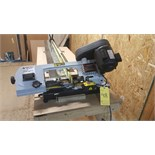 Craftex swivel metal cutting band saw mod.cx109 with table and clamps