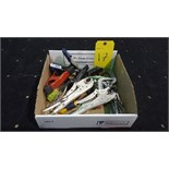 Lot (10) Vicegrips, pliers and clamps