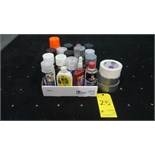 Lot of Various aerosol products