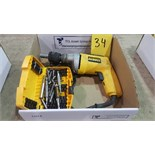 DeWalt D270-04 VSR drywall screwdriver and bit set