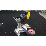 "Kobalt laser-guided 7 1/4"" mitre saw with blades"