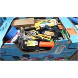 ASSORTED TOOLS / TAPE MEASURES / CUTTERS