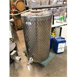 Speidel 320L Stainless Steel Holding Tank, Approx 45in OAH x 26in OD | Sub to Bulk | Rig Fee: $75