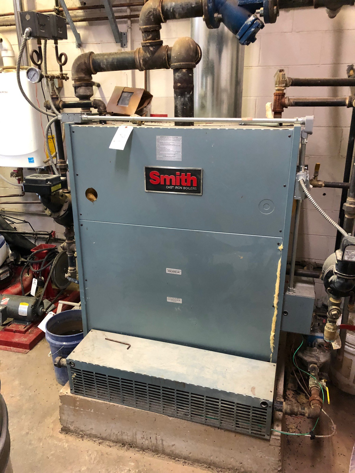 Lot 29 - 2008 Smith Natural Gas Fired Steam Boiler | Sub to Bulk | Rig Fee: $500