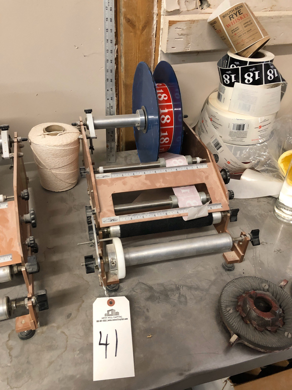 Lot 41 - Race labeling Machine | Sub to Bulk | Rig Fee: $30 or HC