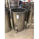 Approx 75 Gallon Polished Stainless Steel Holding Tank | Sub to Bulk | Rig Fee: $35