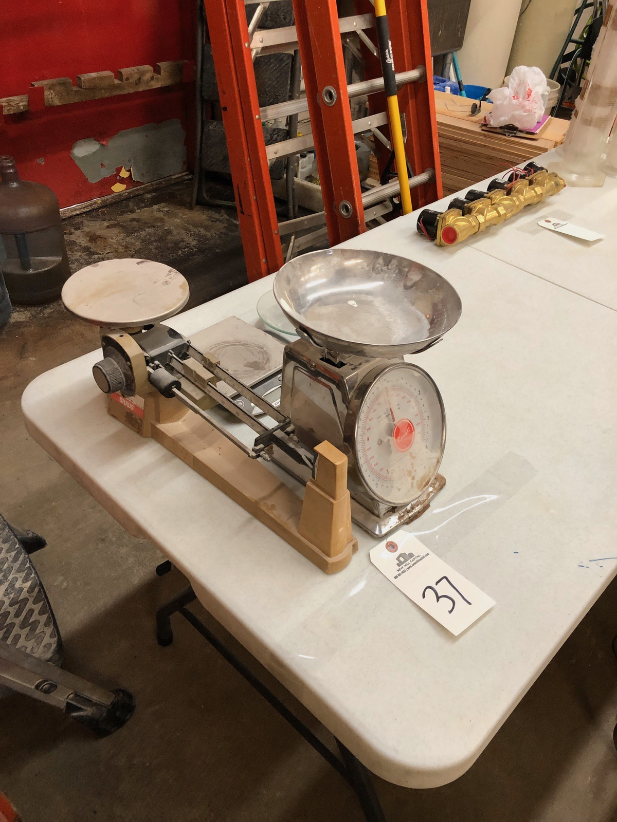 Lot 37 - Lot of Desktop Scales | Sub to Bulk | Rig Fee: $30 or HC