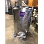 iNox Star 600L Stainless Steel Holding Tank, Approx 31in OD x 50in OA | Sub to Bulk | Rig Fee: $150