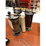 (4) Tenco Bottle Filters | Sub to Bulk | Rig Fee: $30 or HC