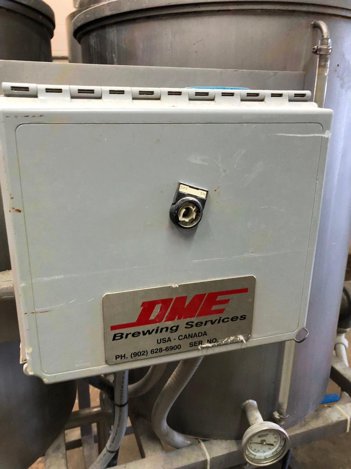 Lot 18 - DME Mobile CIP System, Dual Tank, Centrifugal Pump, Portable | Sub to Bulk | Rig Fee: $150