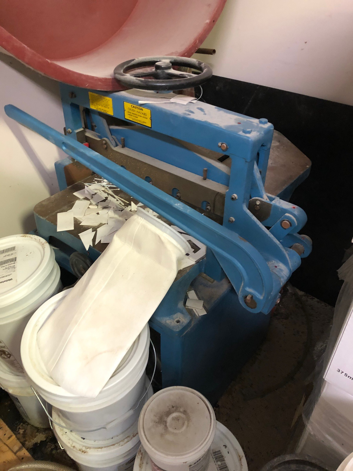Lot 86 - Challenge Machinery Paper Cutter | Rig Fee: $100