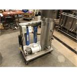 Stainless Steel Mixing Skid with Centrifugal Pump and Cartridge (Addi | Sub to Bulk | Rig Fee: $50