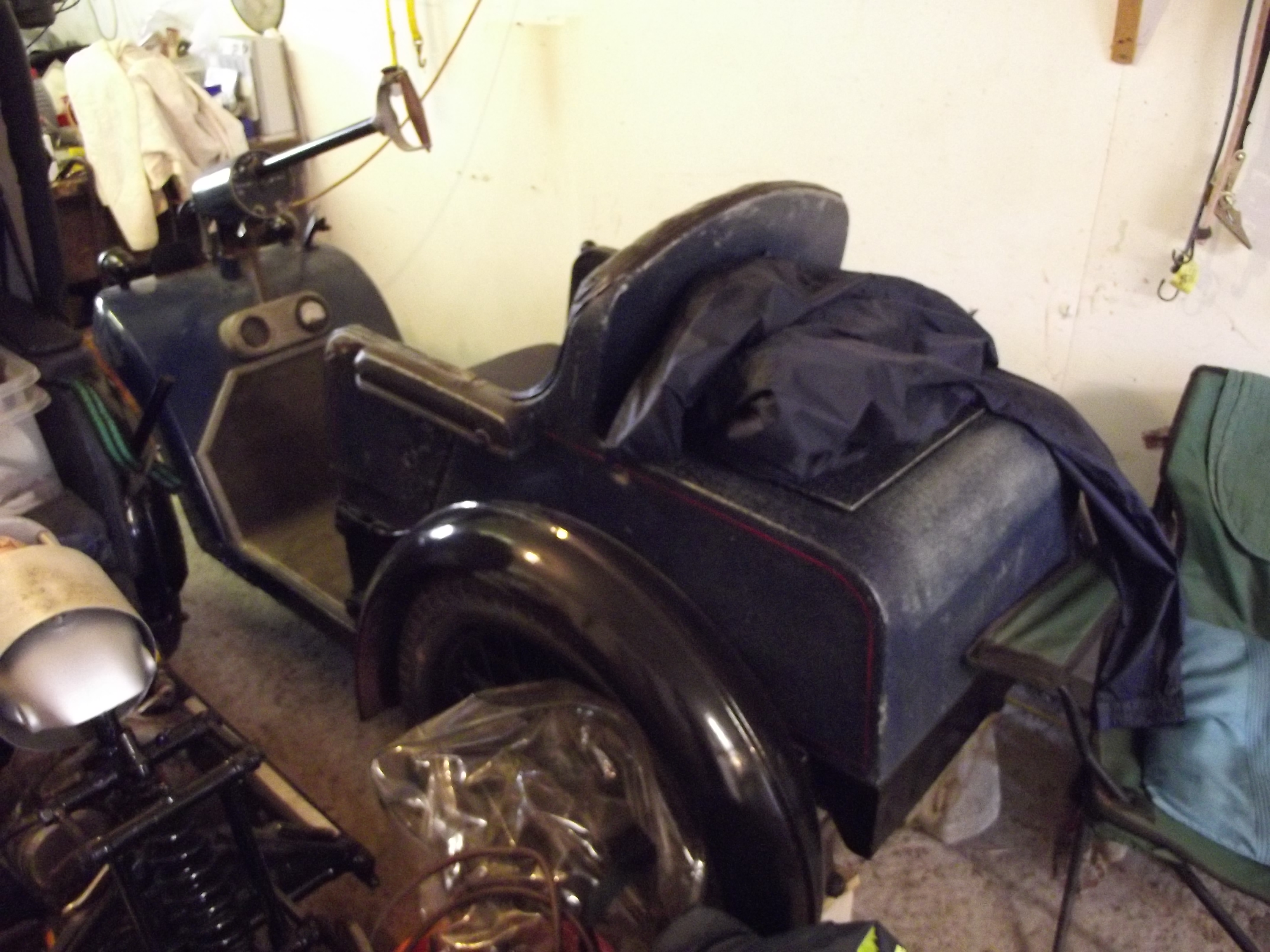 A 1946 Nelco Solocar Electric Invalid Carriage From A Deceased