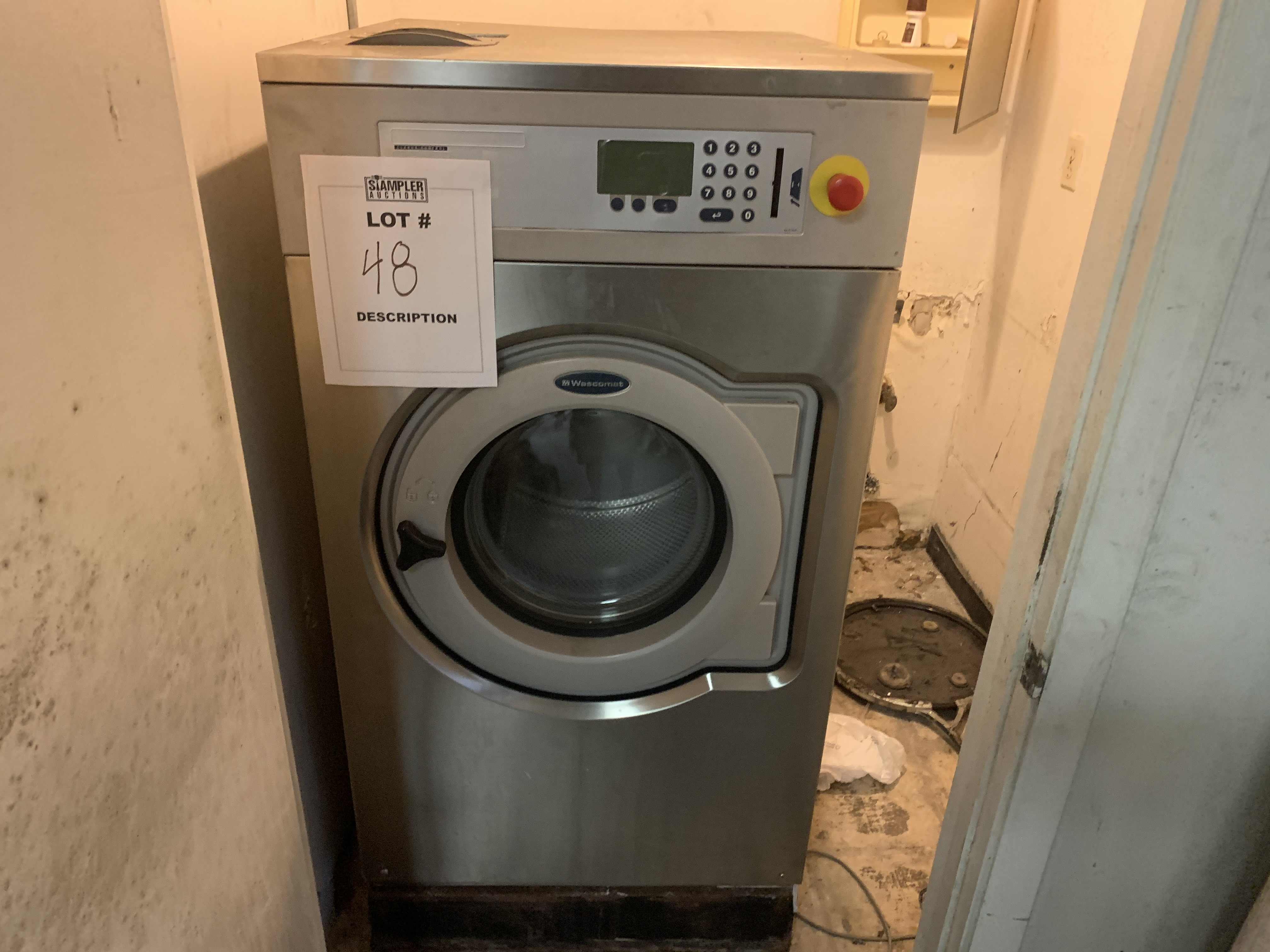 WASCOMAT SV640C WASHING MACHINE WITH CLARUS CONTROL - 40LB CAPACITY
