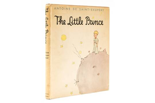Saint Exupery Antoine De The Little Prince First Edition First Issue With 5 Line Colophon