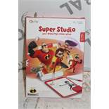 Lot to Contain 5 Boxed Osmo Super Studio Incredibles 2 Character Drawing Packs Combined RRP £150