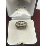 2.00cts OF DIAMONDS SET IN A 10ct GOLD RING