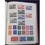 Stamps, Eclipse stamp album containing a selection of GB, Australian, Canadian & New Zealand stamps,