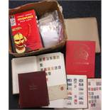 Stamps, large accumulation of GB & World stamps (1,000's), mint & used in stamp albums, stockbooks &