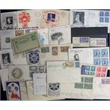 Postal history, Canada, a collection of 27 postal covers, several illustrated inc. FDC's, some